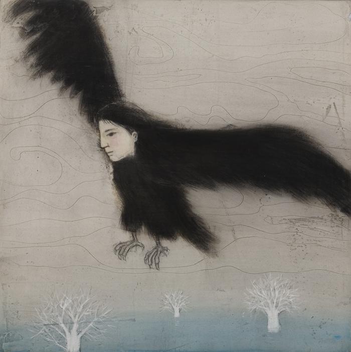 새가 된 소녀/The bird girl