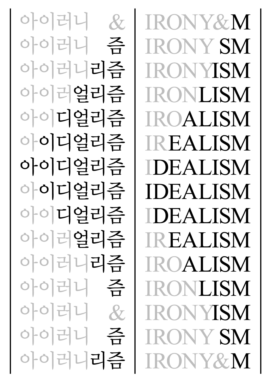 한국-독일 현대미술 교류전 《아이러니 & 아이디얼리즘》 3차 순회전, 독일
