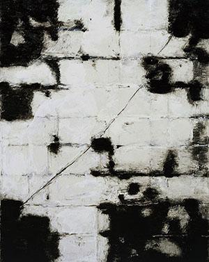박영남--하늘에-그려본-풍경--2006--캔버스에-아크릴-채색--250×200cm