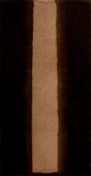 윤형근--번트엄버-_-울트라마린--1978--린넨에-유채--270×140cm